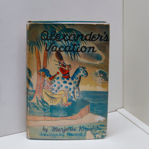 "Vintage children's book ""Alexander's Vacation"" [1943] First edition by Marjorie Knight Illustrated by Howard Simon"
