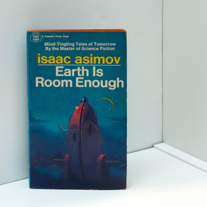 "Isaac Asimov story collection ""Earth is Room Enough"" [1961] 15 science fiction and fantasy stories and two pieces comic verse"