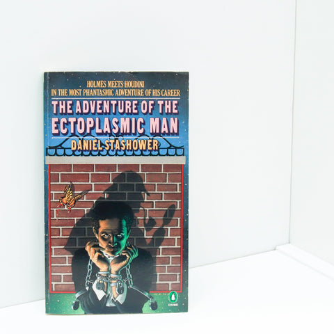 The Adventure of the Ectoplasmic Man [1986] First edition vintage paperback Featuring Sherlock Holmes and Harry Houdini