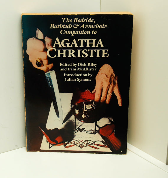 "Agatha Christie ""The Bedside, Bathtub, & Armchair Companion"" First edition Signed [1979]  FREE PRIORITY SHIPPING to U.S"