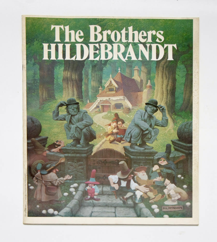 "Signed Book ""The Brothers Hildebrandt"" [1978] Limited Edition Gallery Exhibition Program"