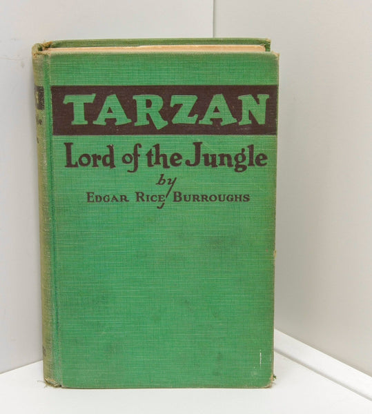 "First edition ""Tarzan Lord of the Jungle"" A.C. McClurg [1928] Edgar Rice Burroughs"