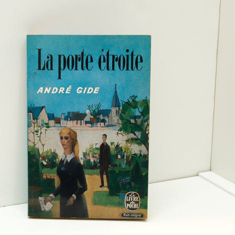 "Andre Gide ""La porte etroite"" [""Straight is the Gate""] French language vintage paperback [1959] Almost new! FREE PRIORITY SHIPPING-"