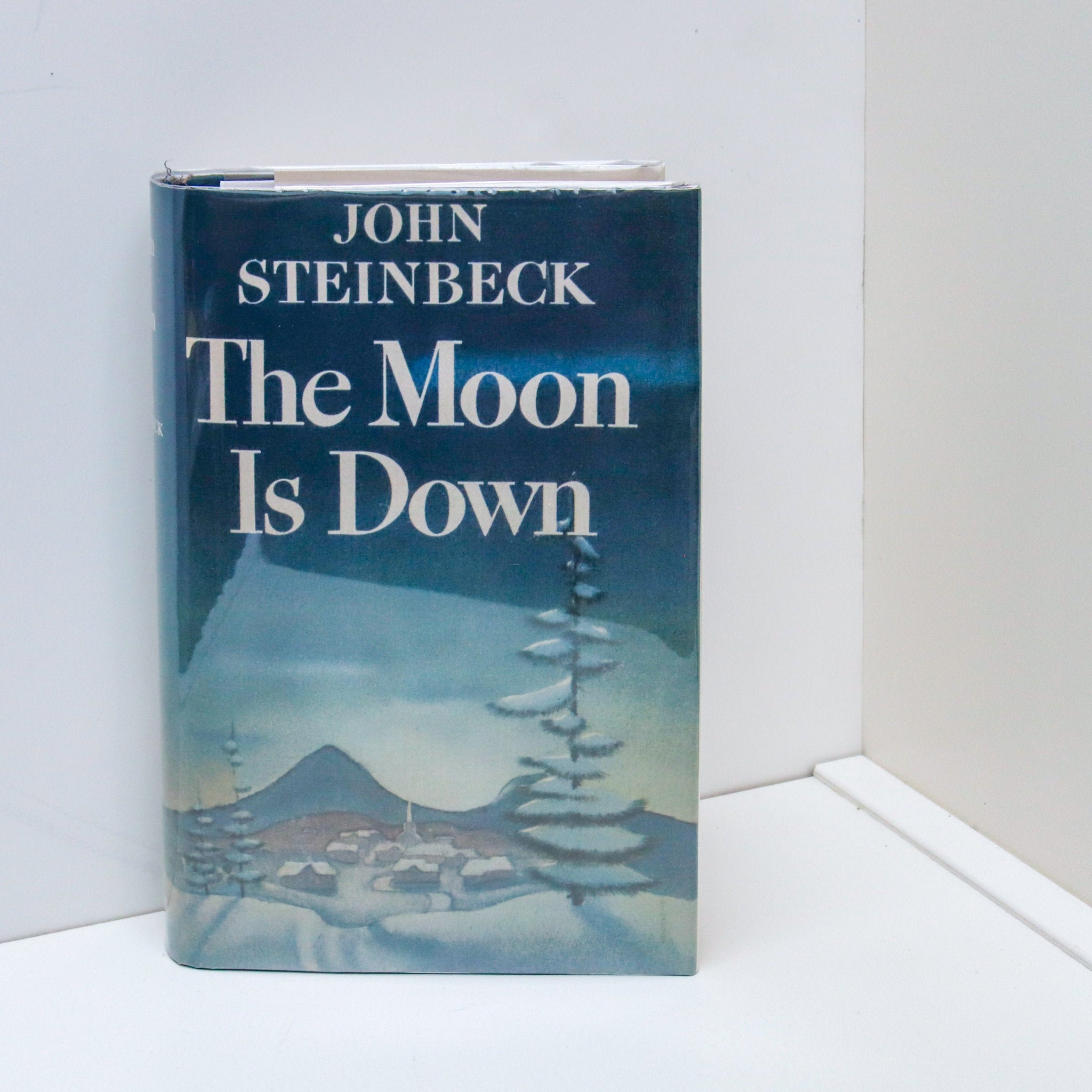 "John Steinbeck ""The Moon is Down"" First edition, second state [1942] Facsimile first edition dust wrapper"