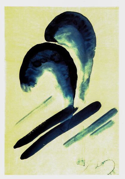 "Georgia O'Keeffe vintage art book plate [1916] ""Special No. 21 / Blue No. III"" For the minimalist"