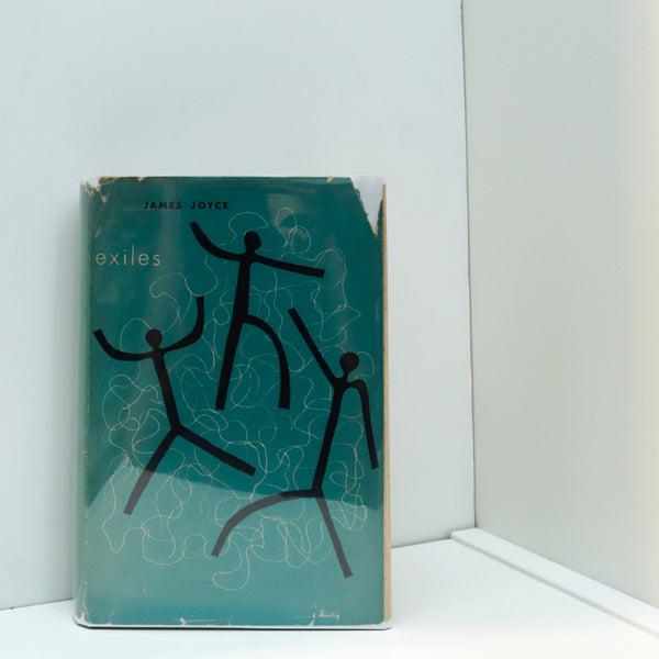 Exiles James Joyce [1945] Vintage New Directions A play First edition thus FREE PRIORITY to US