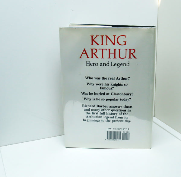 King Arthur Hero and Legend [1990] First edition Vintage illustrated hardcover Richard Barber
