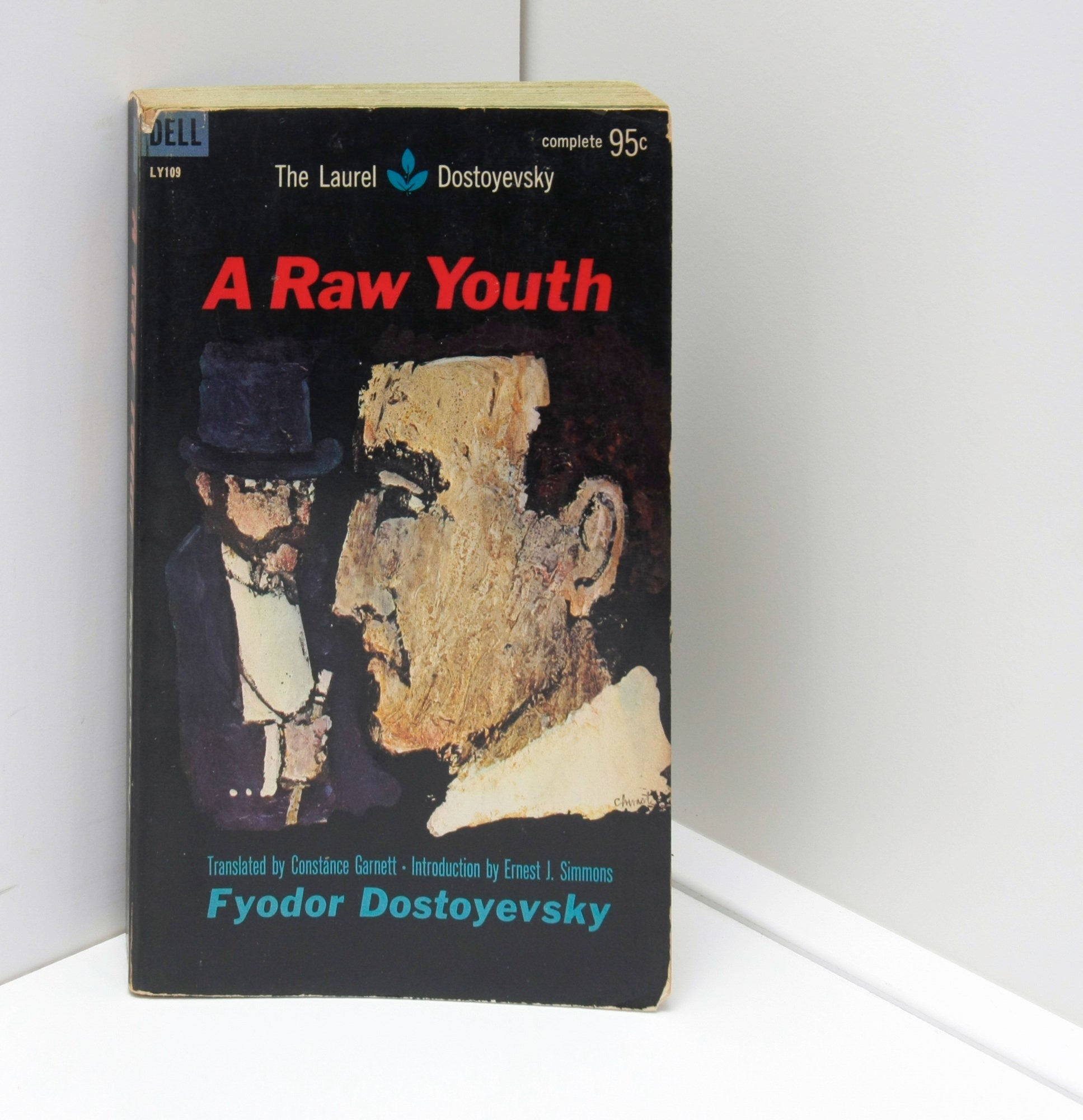 "Dostoyevsky ""A Raw Youth"" [1961] First edition paperback"