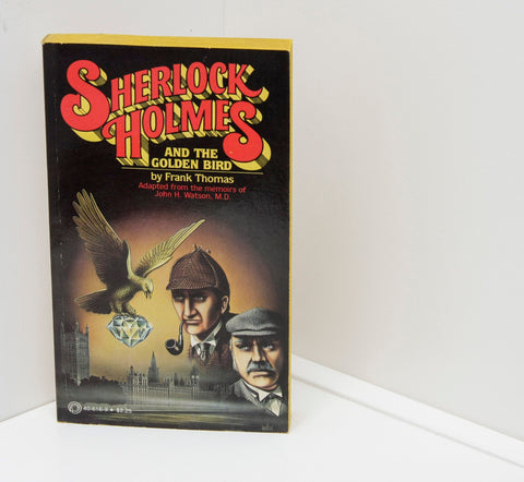 "Sherlock Holmes ""and the Golden Bird"" [1979] First Edition Like New! vintage paperback"