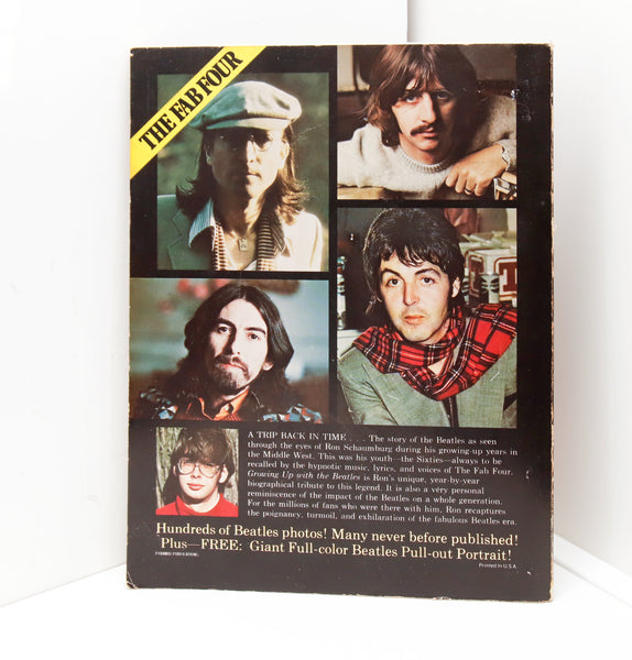 Growing Up with The Beatles [1976] Ron Schaumburg Large format photography paperback