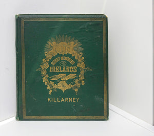 "Antique Book ""Sunny Memories of Ireland's Killarney"" [1867] 15 photographs incl. Ross Castle"