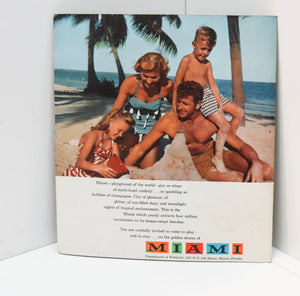 Invitation to Miami - Playground to the World [c.1951] 22 page large format full color tourism brochure