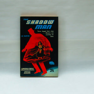 "Thriller vintage paperback ""The Shadow Man"" [1966] The Night Walker is abroad again... Seemingly unread vintage paperback"