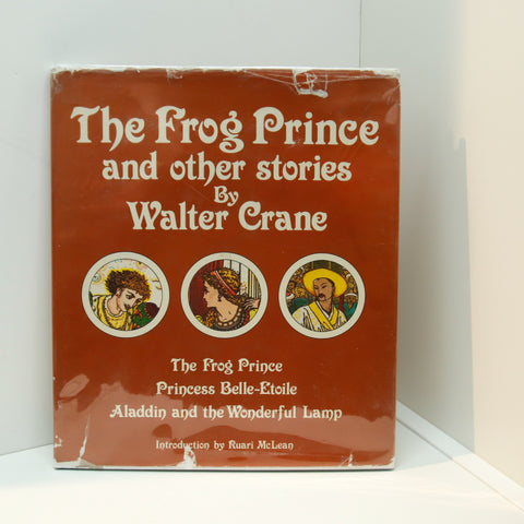 "The Frog Prince and Other Stories by Walter Crane [1980] First edition thus ""Toy Books"" Princess Belle-Etoile Aladdin and the Lamp"
