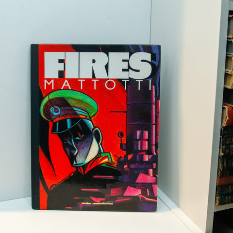 "Mattotti ""Fires"" Limited edition First edition hardcover graphic novel [1988] #487"