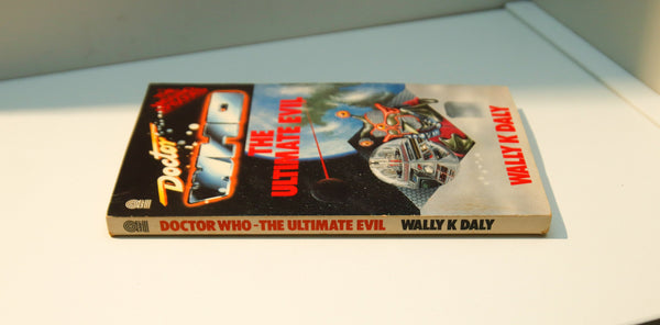"Doctor Who ""The Ultimate Evil"" [1989] First edition vintage paperback  Recounts the plot of a MISSING EPISODE from 1985"