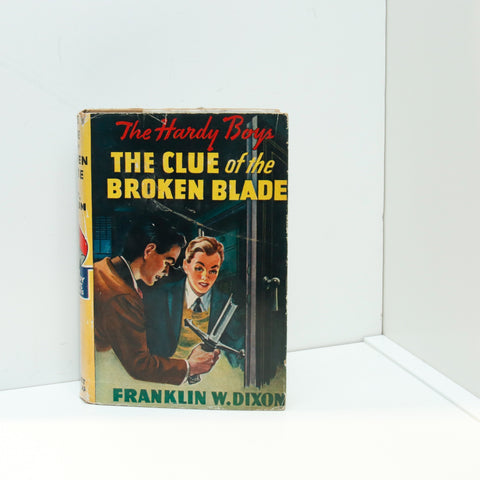 "Hardy Boys #21 ""The Clue of the Broken Blade"" [1959] This is the 1959c-31 printing as per Carpentieri & Mular"
