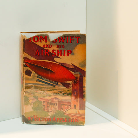 Tom Swift and His Air Ship hardcover in original dust jacket [1929] First edition, later printing Children's series book #3