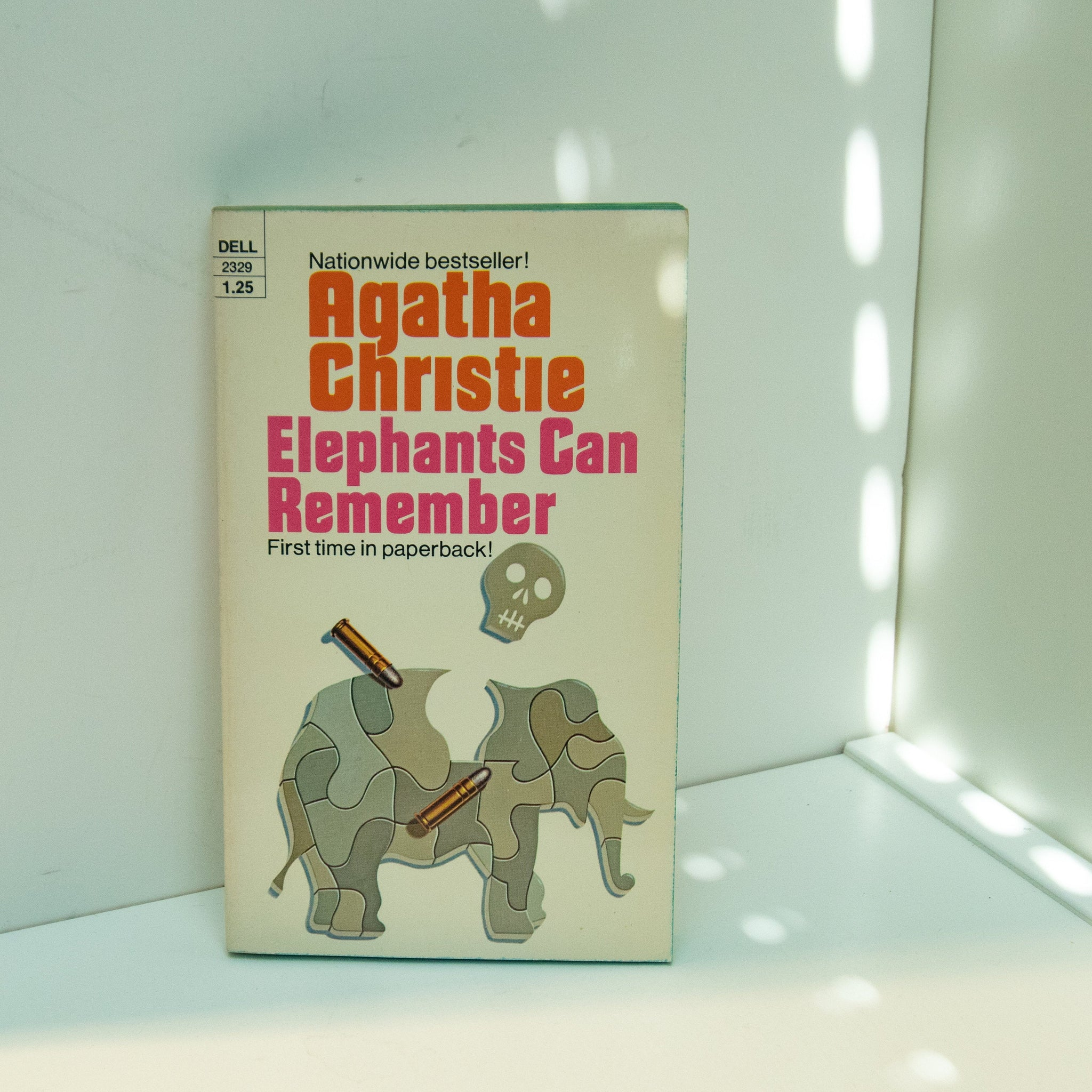 "Hercule Poirot mystery ""Elephants Can Remember"" Agatha Christie [1973] First edition first time in paperback May be unread!"