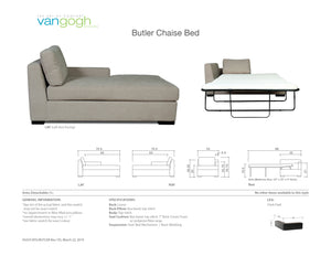 Butler Chaise Bed