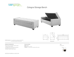 Cologne Storage Bench