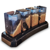 Image of Deep Ocean Cubes with Base Is The Ultimate In Home Decor by Arditi Collection