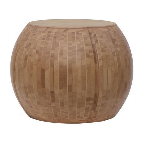 "Bamboo Timbre 23"" Drum Table In Seven Colors For Your Home by Maria Yee"
