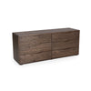 "Image of Fabulous Merced Collection: 71"" 6-Drawer Double Dresser Shown In Shiitake Finish by Maria Yee"