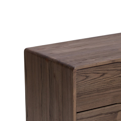 "Fabulous Merced Collection: 71"" 6-Drawer Double Dresser Shown In Shiitake Finish by Maria Yee"