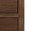 "Image of Aldus Collection: 36"" 3-Drawer Elm Chest Shown in Pumpernickel Finish by Maria Yee"