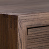 "Image of Aldus 22"" Elm Chest With Five Drawers Shown in Pumpernickel Finish by Maria Yee"
