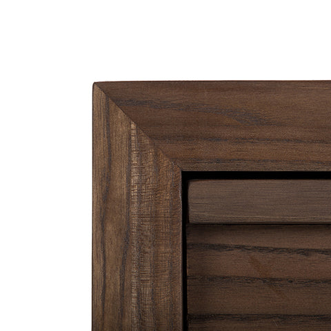 "Classic Aldus Collection: 60"" 8-Drawer Solid Elm Dresser Shown in Pumpernickel Finish by Maria Yee"
