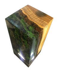 Forest Cube Table Lamp Plugs In To Bring It To Life by Arditi Collection