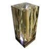Image of Clear Epoxy Resin Brings Out The Beauty Of The Branches Cube Table Lamp by Arditi Collection