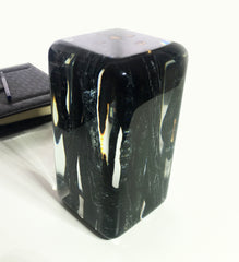 Unusual Burnt Sticks Cube Fits Well Into Your Home Office by Arditi Collection