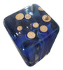 "Image of High-End Blue Sticks Cube Makes A ""Wow""Statement by Arditi Collection"