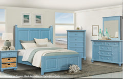 Complete Five-Piece Twin Bedroom Set by Sunset Trading Collection