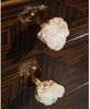 Image of Lombardy 3-Drawer Chest In Ebony Veneer With Silvered Crystal Handles by John-Richard