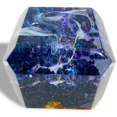 Home Decor! Dream Space Cube in Blue by Arditi Collections