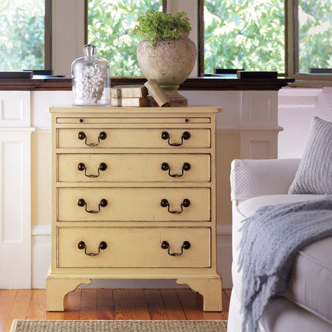 Hand Distressed 4-Drawer Yarmouth Chest With Brass Hardware by Somerset Bay