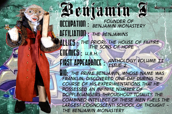 The Benjamins - Dope Fiends Characters