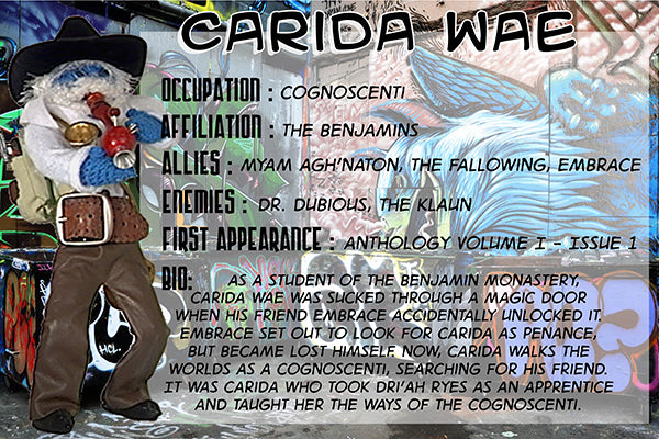 Carida Wae - The Dope Fiends Characters