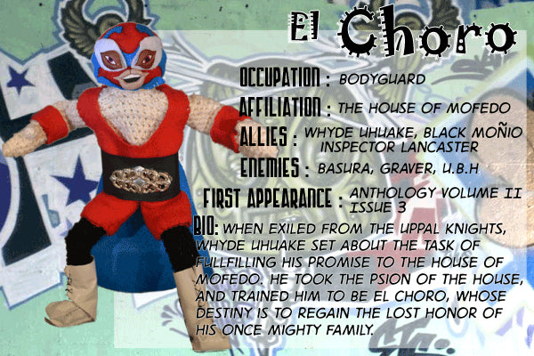 El Choro - The Dope Fiends Comic Character
