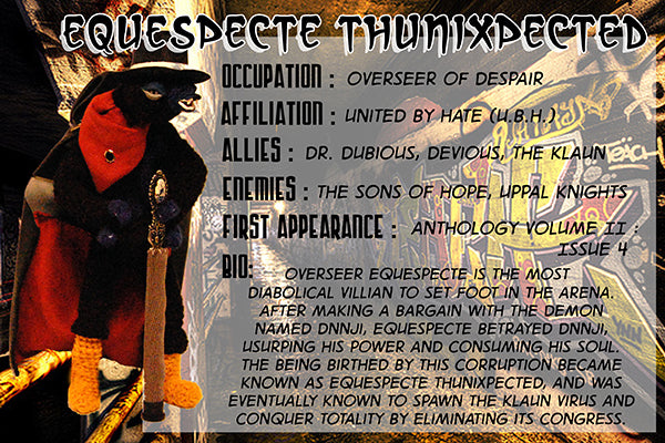 Equespecte Thunixpected - The Dope Fiends Comic Character