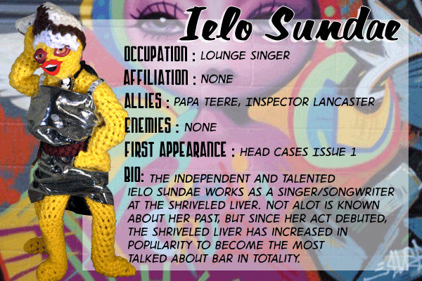 Ielo Sundae - The Dope Fiends Comic Character
