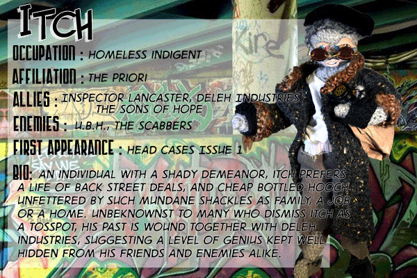 Itch - The Dope Fiends Comic Character