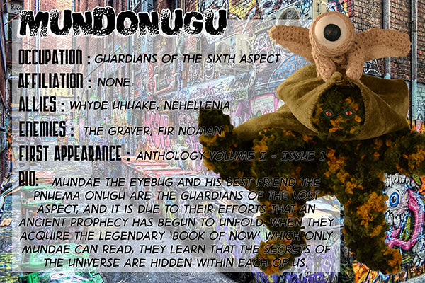 MundOnugu - The Dope Fiends Comic Character