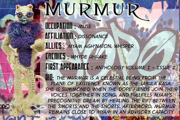 Murmur - The Dope Fiends Comic Character
