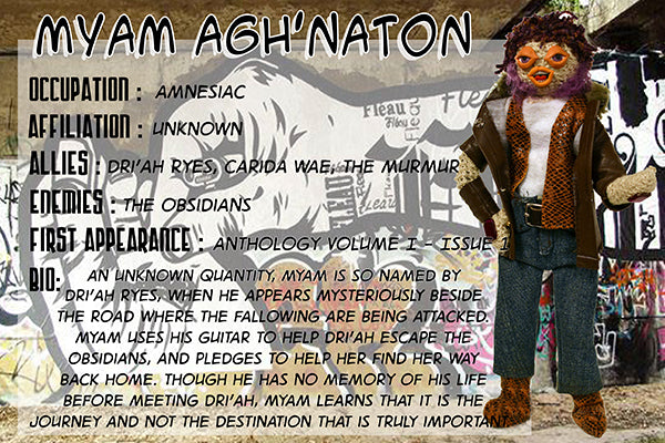 Myam Agh'Naton - The Dope Fiends Comic Character