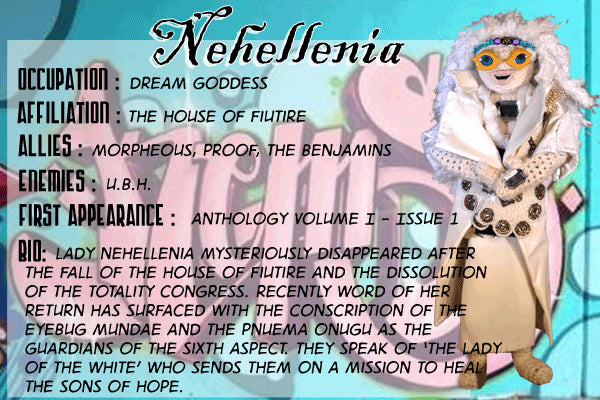 Nehellenia - The Dope Fiends Comic Character